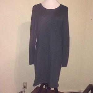 Dark green women's merona sweater dress
